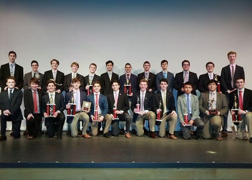 Winter Athletes Honored