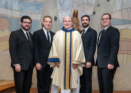 Meribah Province Welcomes New Priest, Brother