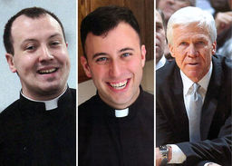 Long Island Catholic Covers Three Alumni