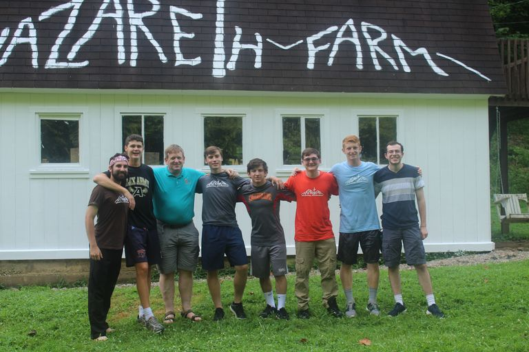 Flyers Continue a Tradition of Service at Nazareth Farm
