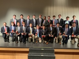 Fall Athletes Honored with Fall Athletic Awards
