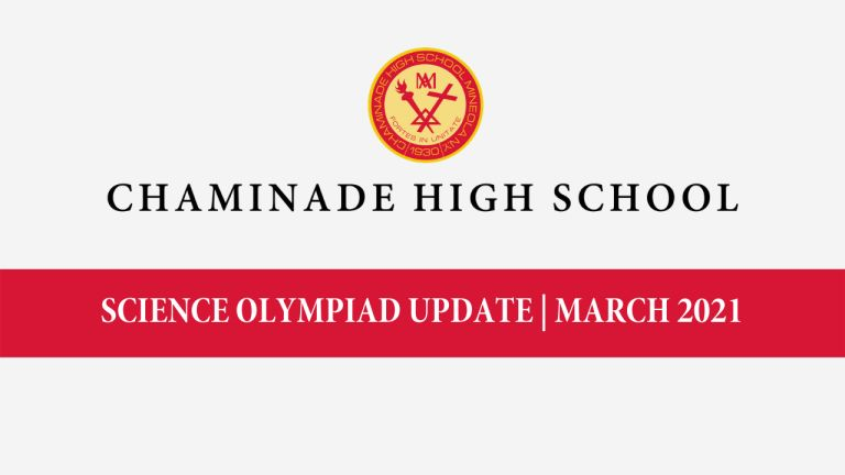 Science Olympiad Update | March 2021