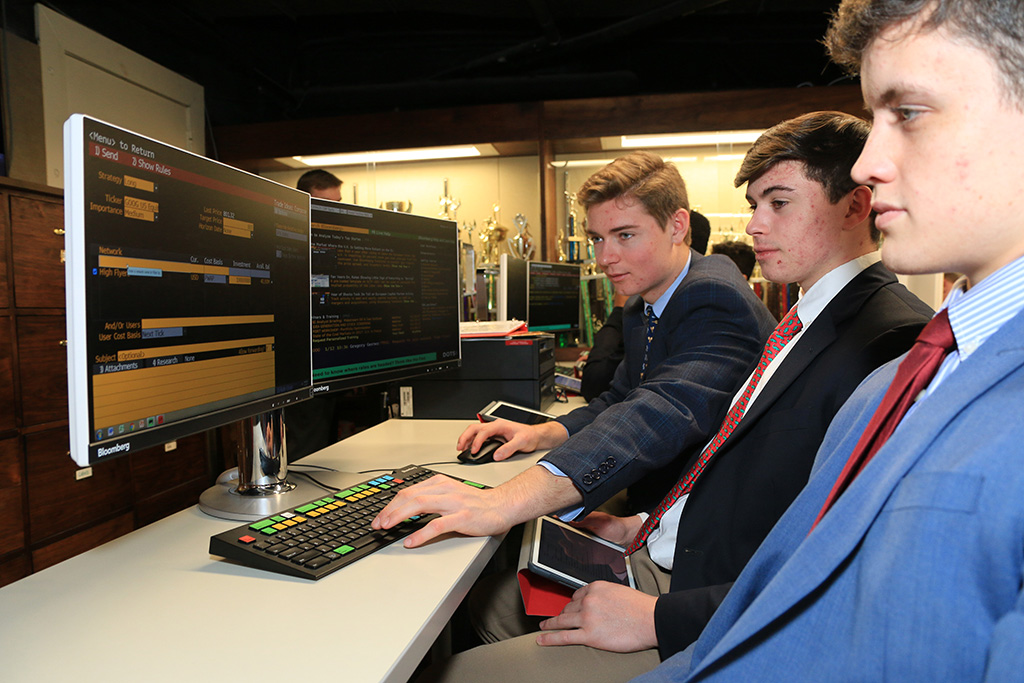 Bloomberg Business Center | Chaminade High School, Mineola, NY